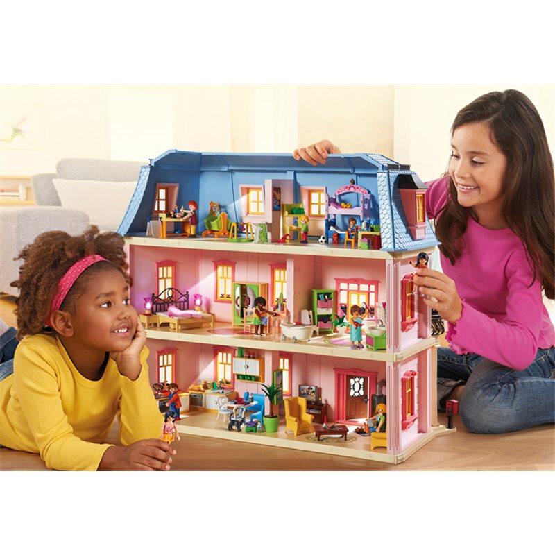 Maison traditionnelle - Playmobil 5303 - Vente privu00e9e Pogioshop